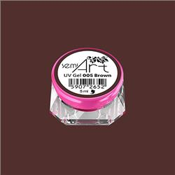 Semi Art UV Gel 005 Brown
