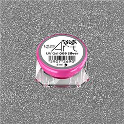 Semi Art UV Gel 009 Silver