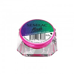 Semilac Flash Galaxy Green&Purple 664