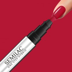 SEMILAC S550 One Step Hybrid Marker Pure Red 3 ml